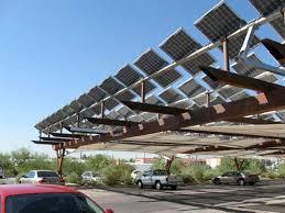 solar panel parking lot lights energy solutions