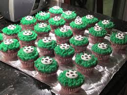cupcake wonderful afl ball cake american football cupcakes