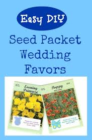seed packets wedding favors flower seed packets an inexpensive baby or bridal shower favor