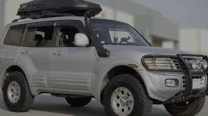 white mitsubishi montero wellvisors side window deflector installation video mitsubishi