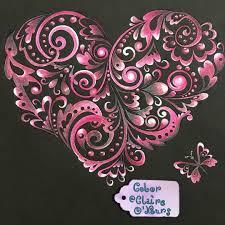 Crayons de couleurs Holbein  Black Premium Coeurs  Ma Bulle de Papier