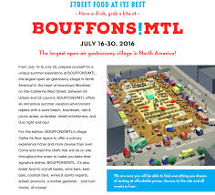 A Bite Of North America by Bouffons Mtl The Largest Open Air Gastronomy Village In North