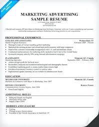 resumes for marketing jobs advertising resume u2013 jalcine me