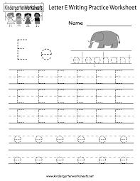 kindergarten alphabet worksheets free worksheets