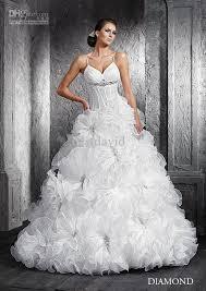 wedding dresses wholesale wholesale transparent corset wedding dress diamond gown