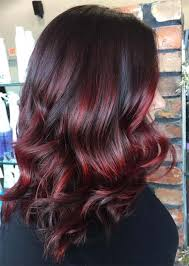 how to get cherry coke hair color balayage hair trend 51 balayage hair colors highlights glowsly