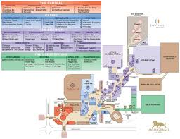 Washington Dc Hotel Map by Las Vegas Mgm Grand Hotel Map