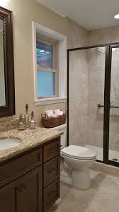 3 Fixture Bathroom Traditional 3 4 Bathroom With Kensington Series Beige Porcelain