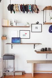 Floating Desk Diy Cool Computer Desks Home Office Eclectic With Bar Stool Craftsman