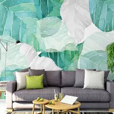 online get cheap tropical wall murals aliexpress com alibaba group north europe design tropical wallpaper photo wall mural for living room bedroom leaf luxury wall paper