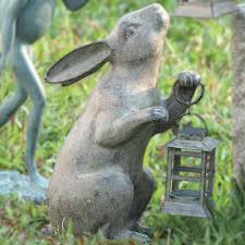 amazon com spi home 33072 rabbit lantern outdoor decorative