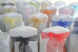 yellow chair sashesaffordable wedding favors shop chair covers online 2015 wedding party banquet organza sash
