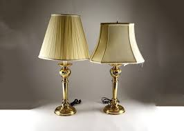 Vintage Brass Table Lamps Table Lamps Candlestick Table Lamps Uk Antique Brass Candlestick