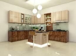 Stylish Modern Kitchen Set Pertaining To Interior Decor Plan With