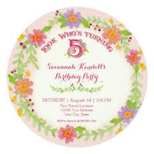 5 year old birthday invitations u0026 announcements zazzle co nz