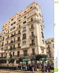 French Colonial Architecture French Colonial Side Of The City Of Algiers Algeria Modern City