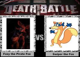 Swiper The Fox Meme - death battle foxy vs swiper by wildcat1999 on deviantart