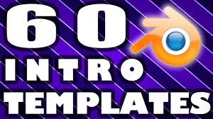 top 60 blender intro template free download 2015 youtube