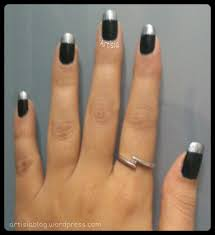 black matte nails with some shimmer u2013 artisia