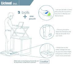 licloud standing desk mat review