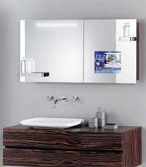 tv in the mirror bathroom hoesch singlebath bathroom suite mirror tv cabinet man s dream