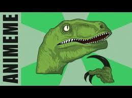 Velociraptor Meme - philosoraptor know your meme