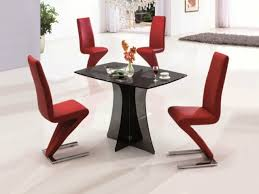 dining room brown leather dining chairs with classic dining