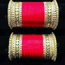 wedding chura shahihandicraft indian traditional wedding chura rs 3699 set