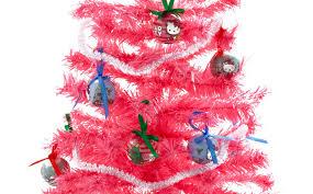 small pink christmas tree ornament hello tree hell purple decorating christmas