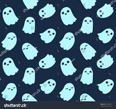 halloween candy background drawn halloween background seamless pattern cute cartoon stock vector