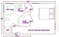 closet floor plans master bedroom 12x16 floor plan with 6x8 bath and walk in closet