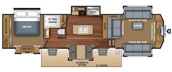 2018 luxury fifth wheel floorplans u0026 prices jayco inc