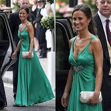 pippa middleton wears green temperley london dress popsugar fashion
