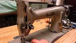 pfaff sewing machine manual pfaff 134 detail and sewing demonstration youtube