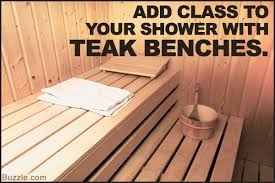 here u0027s why you should include a teak shower bench in your shower