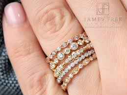 stackable wedding bands would you a non traditional engagement ring free