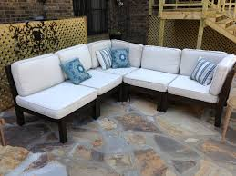 simple outdoor sectional cushions thedigitalhandshake furniture