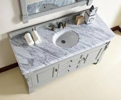 abstron 60 inch grey single sink bathroom vanity optional countertops