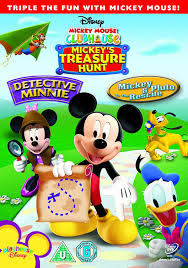 amazon com mickey mouse clubhouse treasure hunt detective