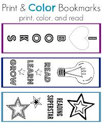 national book month print u0026 color bookmarks parents scholastic com