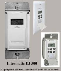 intermatic light switch timer how to wire ej500 timer