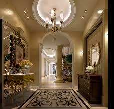 European Style by European Style Hallway Parquet Floor Ceiling Interior Design
