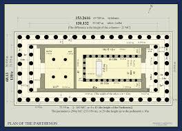 floor plan of the parthenon parthenon plans google search classic architecture pinterest
