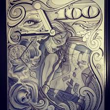 chicano tattoos chicano tattoo flash art 2312 chicano style