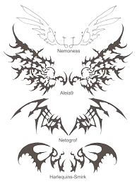 new wing tattoos by wen m on deviantart