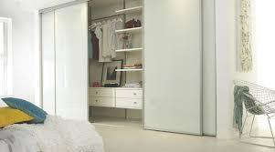 Sliding Closet Doors White Linear White Gloss Sliding Wardrobe Doors Contemporary Bedroom