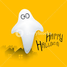banner or background for halloween party concept with illustration