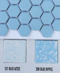 2 new porcelain hex tile floor options for your vintage pastel