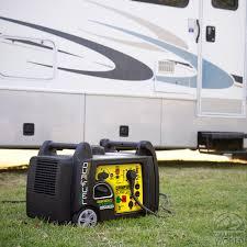 Portable Rv Patio by Champion 3500 Watt Dual Fuel Rv Ready Portable Inverter Generator