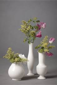 Trio Vases Stately Trio Vases 3 In Décor Bhldn